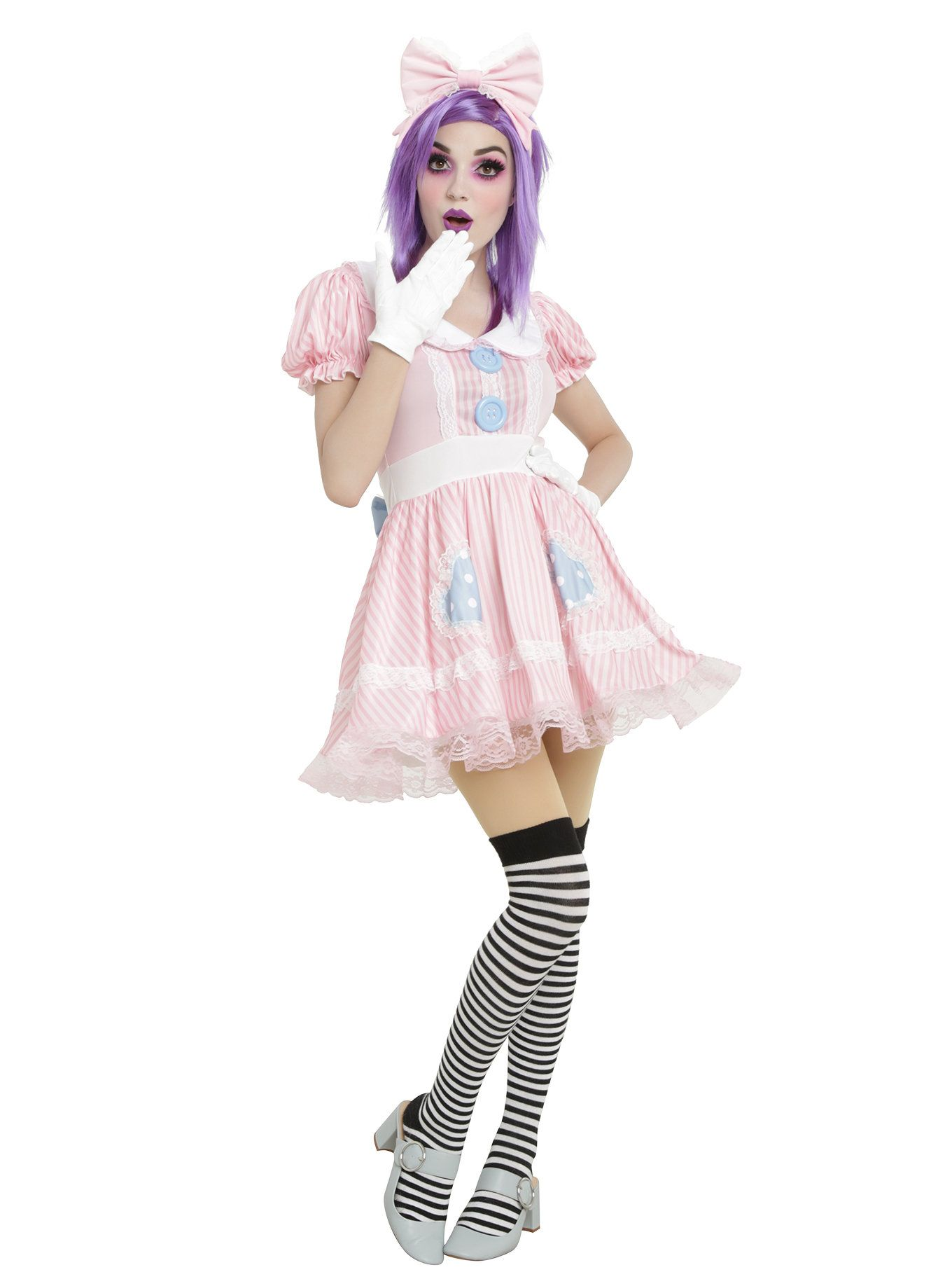 Pastel Doll Costume Dress Halloween outfits, Doll