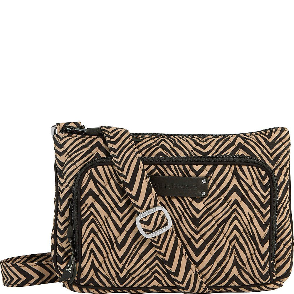 Vera Bradley Women's Little Hipster Zebra Cross Body. How could our popular Hipster bag become even more coveted? In a cuter-than-cute mini version, of course This smaller-sized crossbody features a front compartment with all the benefits of a wallet built right into the bag. The main compartment has just enough room for all your essentials.