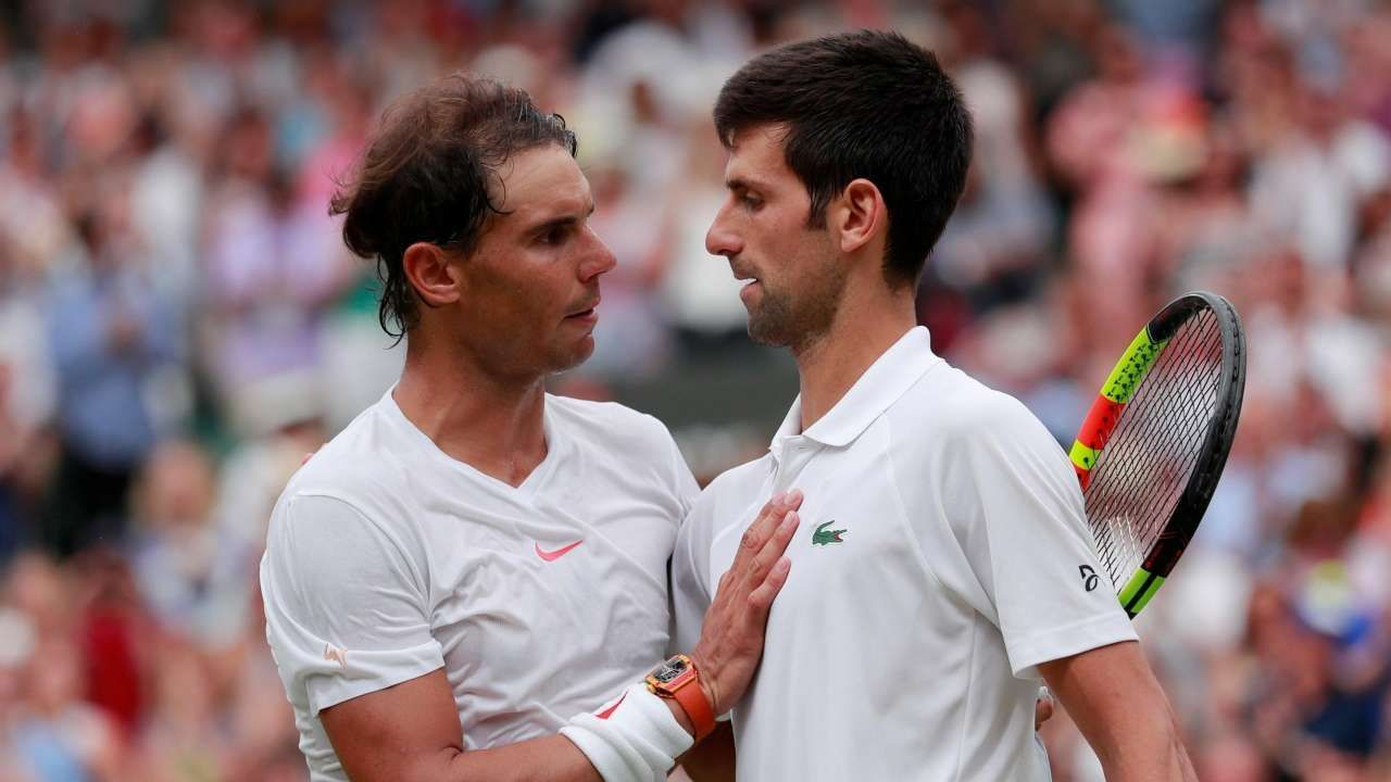 Novak Djokovic Vs Rafael Nadal 19 05 2019 Preview Novak Djokovic Rafael Nadal Tennis Lessons