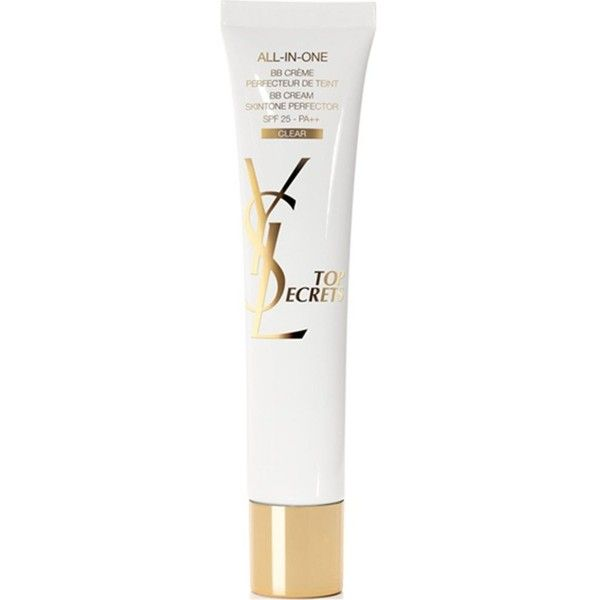 Yves Saint Laurent All-In-One BB Crème SPF 25 30ml - Clear (135 BRL) ❤ liked on Polyvore featuring beauty products, bath & body products, sun care and yves saint laurent