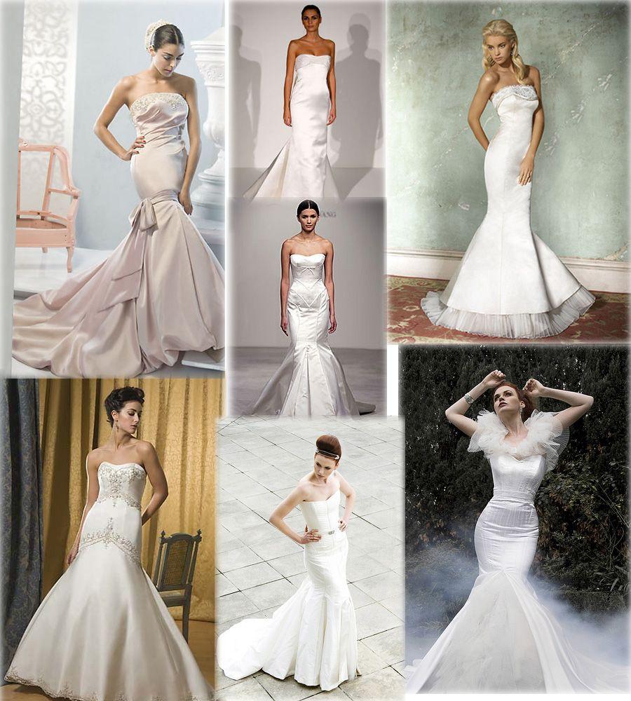 wedding style | Mermaid Style Wedding Dresses ~ Wedding Ideas and ...