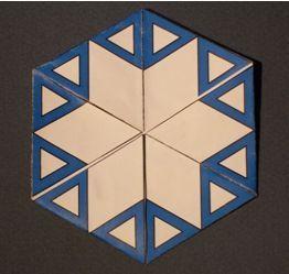 Let's Make a Flexagon | Math - Flexagons | Paper Crafts ...