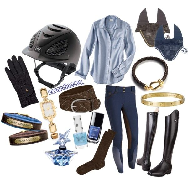 """""""Bold Brown and Blue"""" by bacardiandeq on Polyvore"""