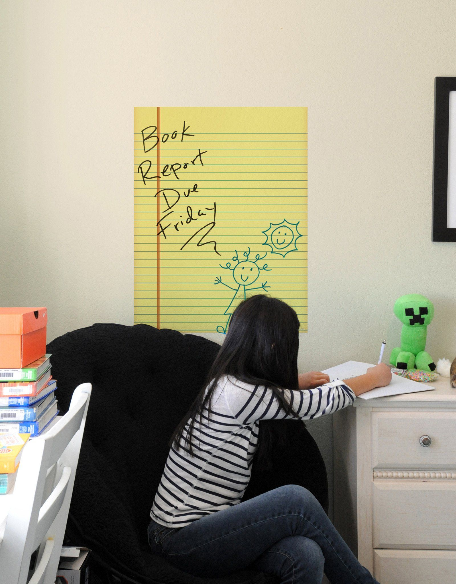 Notepad Dry Erase | Room, Game rooms and Kids rooms