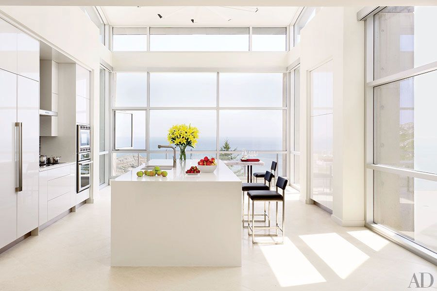 35 Sleek And Inspiring Contemporary Kitchens  Contemporary Simple Kitchen Designs Contemporary Inspiration