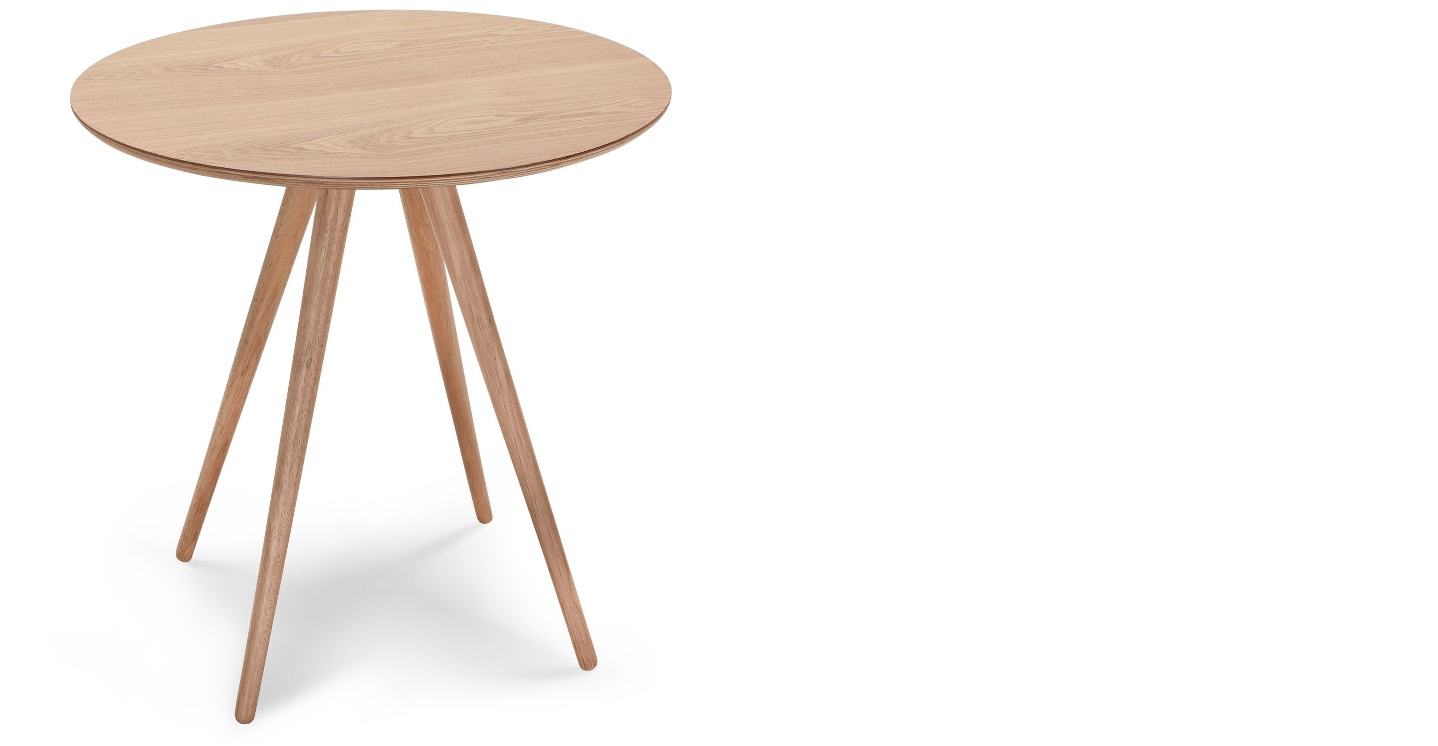 Kitson 2 Seat Round Dining Table Natural Ash Round Dining Table