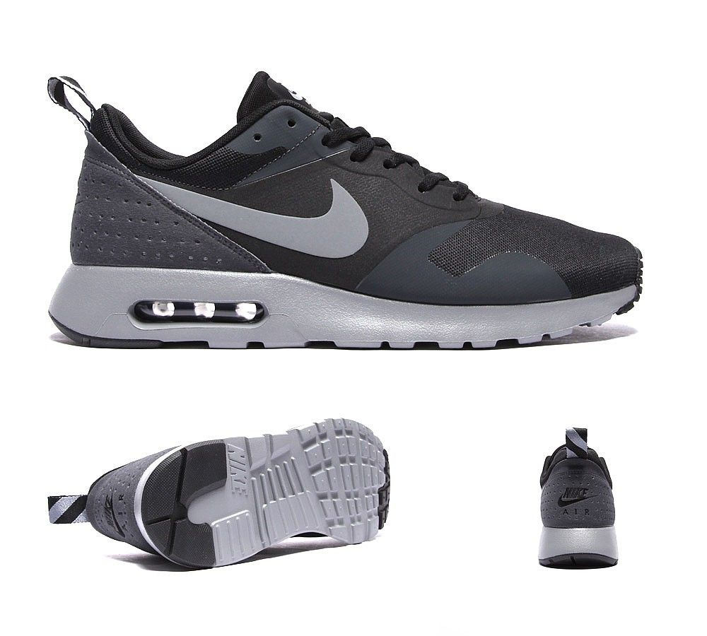Nike Air Max Tavas Se Trainers In Black And White
