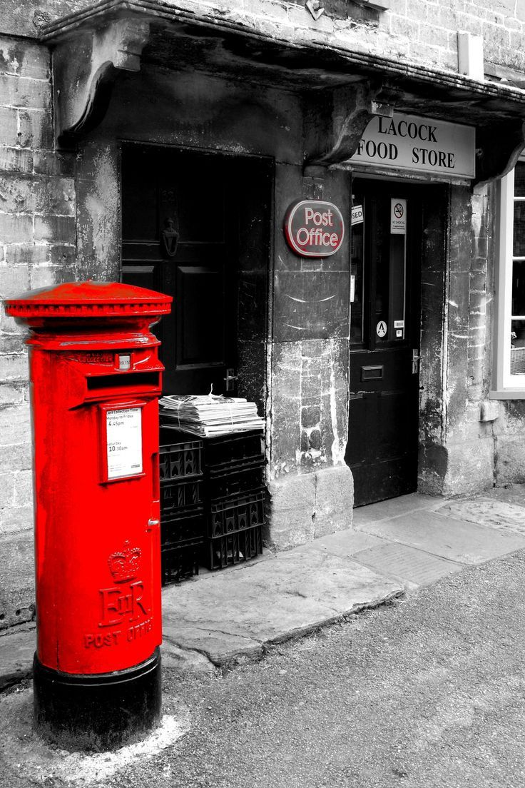 Pin By Amber Lilt On Kf Broadway Post Box Wiltshire British Red