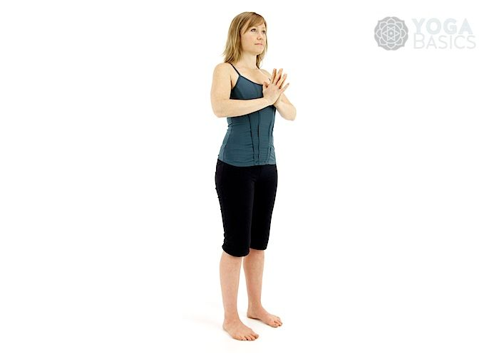Standing 1 Basic Sequence | Standing yoga poses, Basic ...