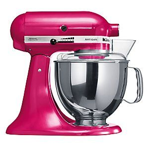 Kitchenaid Artisan Mixer In Raspberry Ice Ayudante De Cocina