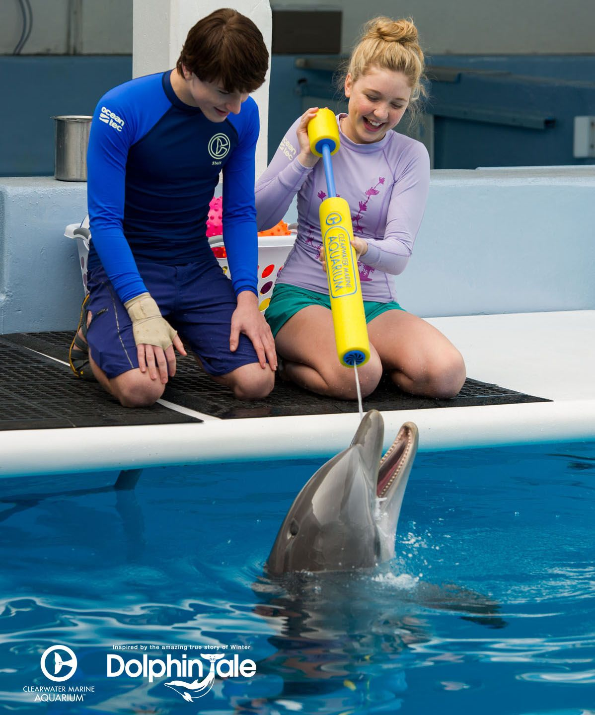 Can't get enough of Cozi in Dolphin Tale 2? Explore some behind ...