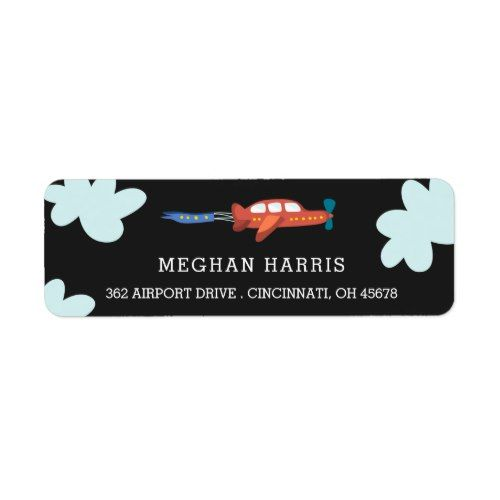 Airplane Fun Address Labels Airplanes