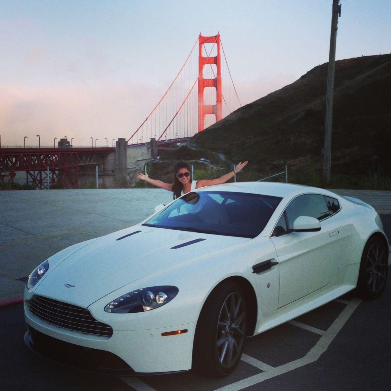 San francisco, Golden Gate Bridge, Aston Martin Vantage ... | aston martin san francisco