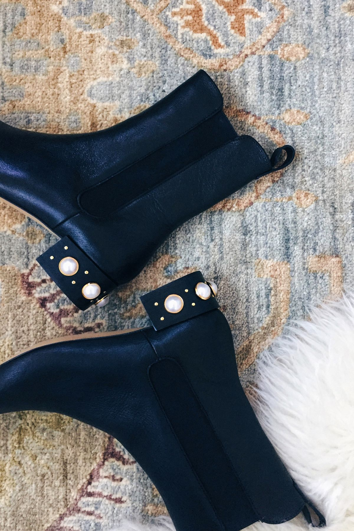 0f49d89cbc18 I ve been crushing hard on the all pretty pearl embellishments spotted on  shoes from Miu Miu