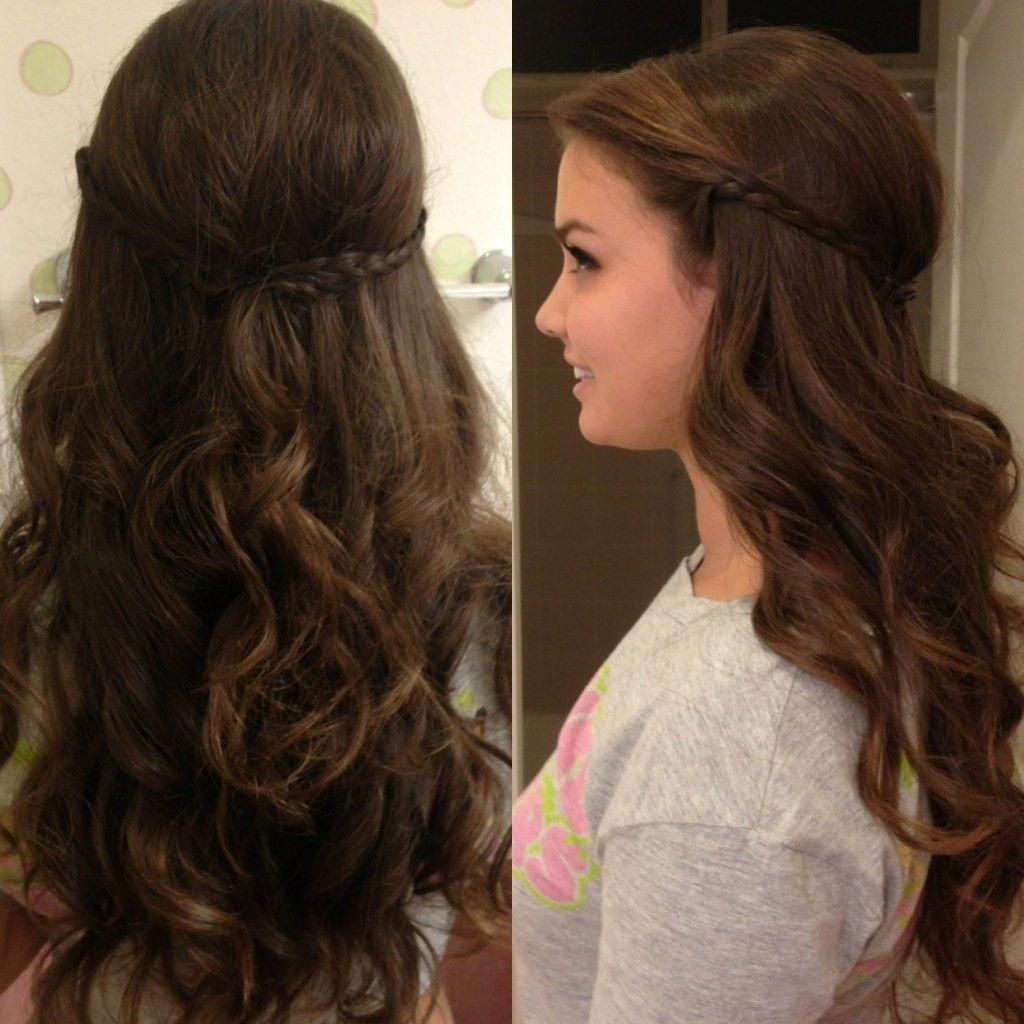 loose curl hairstyles for medium hair elegant loose curly