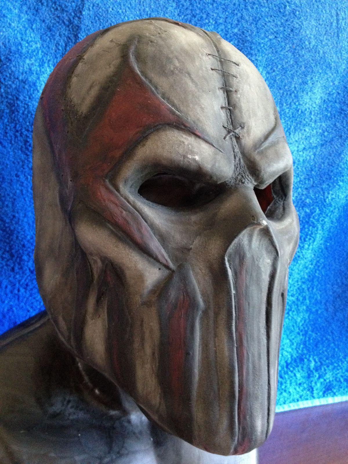 Mushroomhead Slipknot mask #sculpture   woodcarving   Pinterest ...