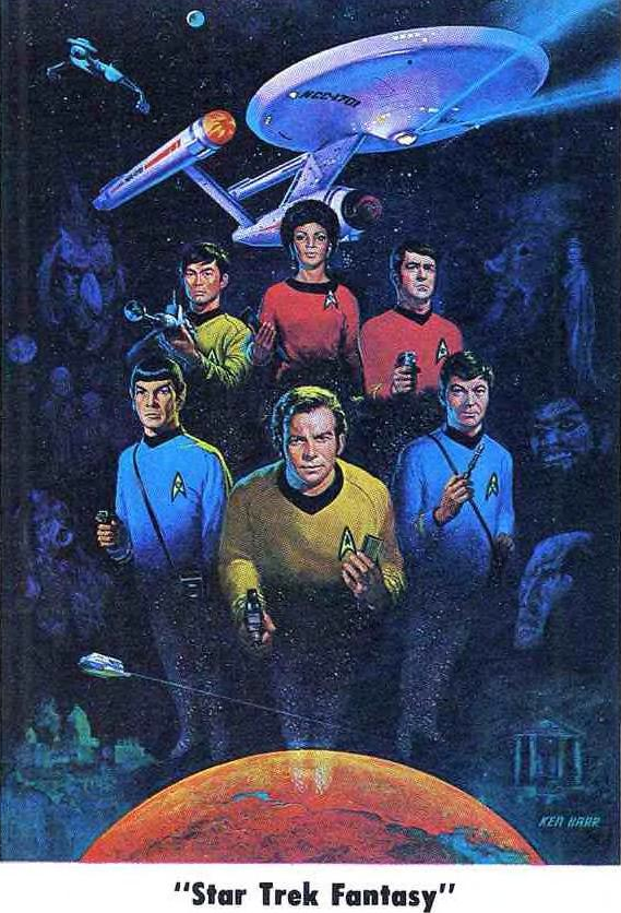 Everything about this poster screams Kirkian awesomeness and the general kickassery that is Star Trek, and I want it to hang on my wall and worship.