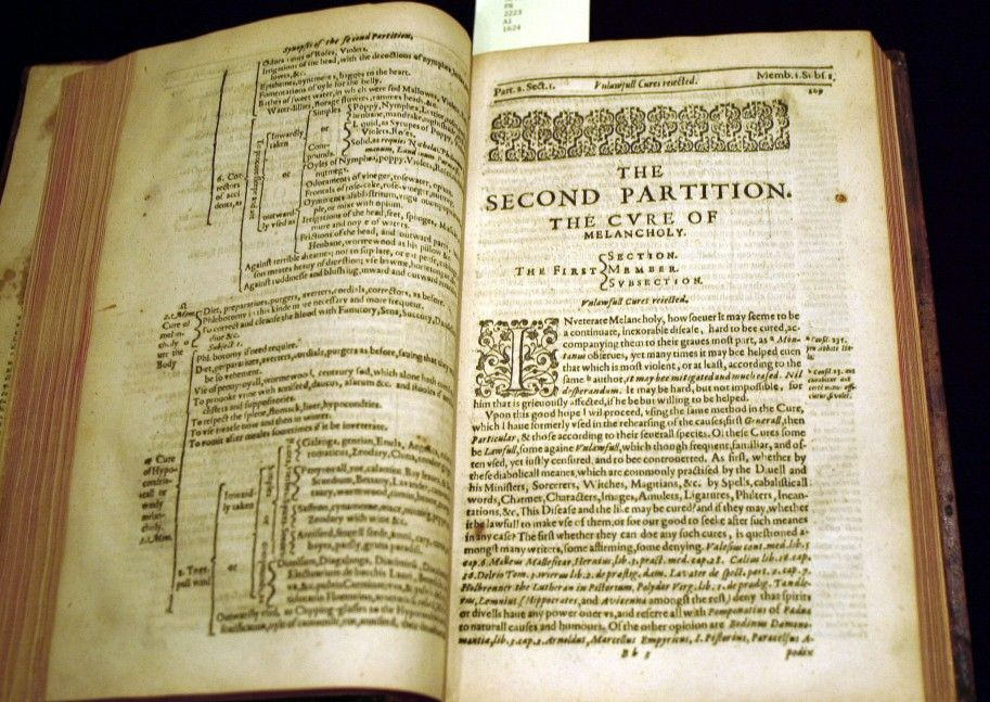 The Second edition of Robert Burton\'s (1577-1640) The Anatomy of ...