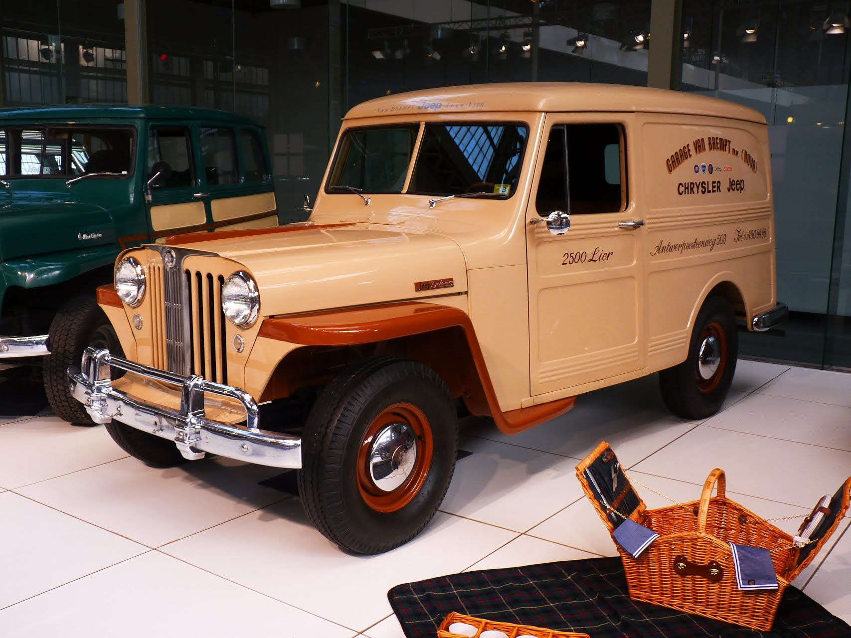 Jeep Willys Panel Delivery 1947