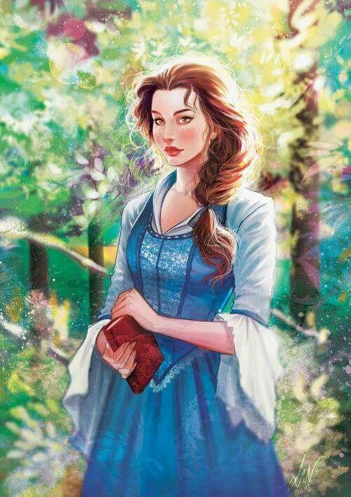 Beautiful Artwork Of Belle