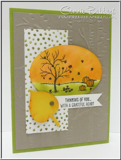 Inkspired Treasures: Happy Scenes - Leaflets Framelits - Woodlands EF - Into the Woods DSP
