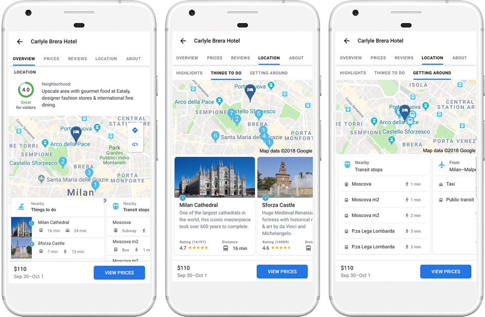 google launches new travel planning tools news board pinterest