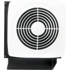 Broan 508 10 Inch Through Wall Ventilation Fan With Square Cover Grille Exhaust Fan Kitchen Exhaust Fan Bathroom Fan