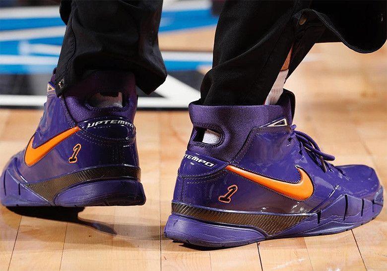 classic fit 3fef8 04c56 Devin Bookers Nike Zoom Kobe 1 Protro PE