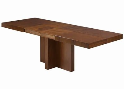mesas extensibles Ginza para el comedor. Una solución muy práctica ...