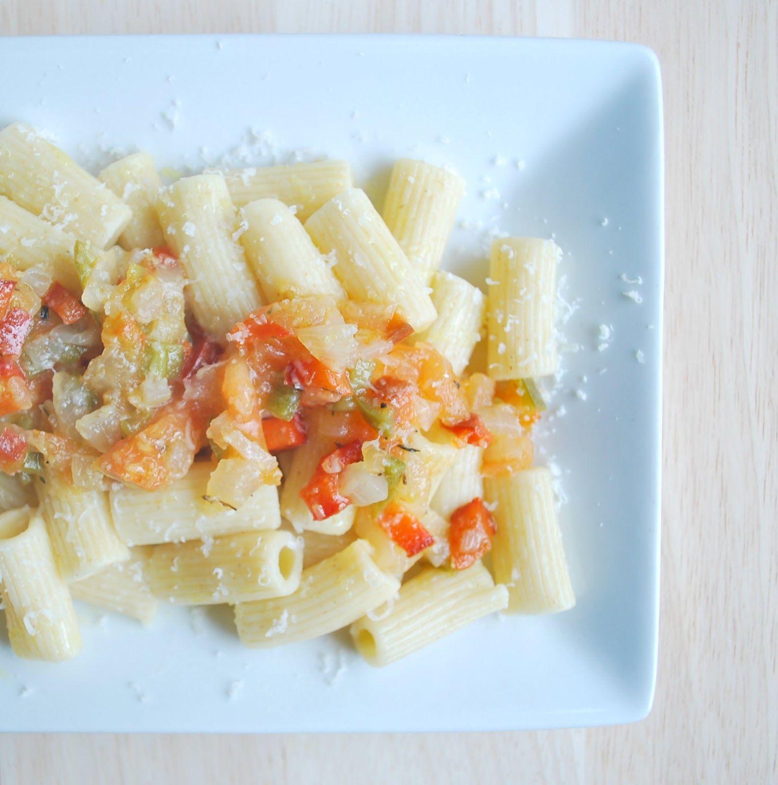 Macarrones Integrales Con Verduras Comer Pasta También Es Sano Macarrones Con Verduras Verduras Cocina Saludable