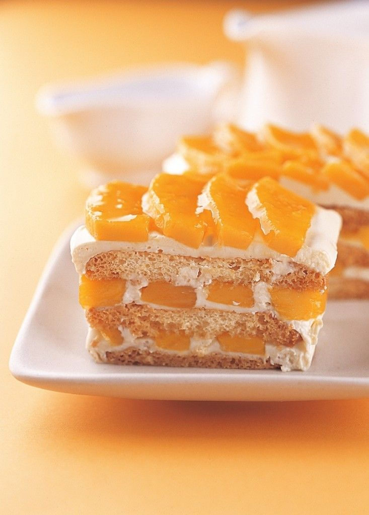 Mango Refrigerator Cake New Asian Cuisine Mango Dessert Mango Graham Cake Graham Cake