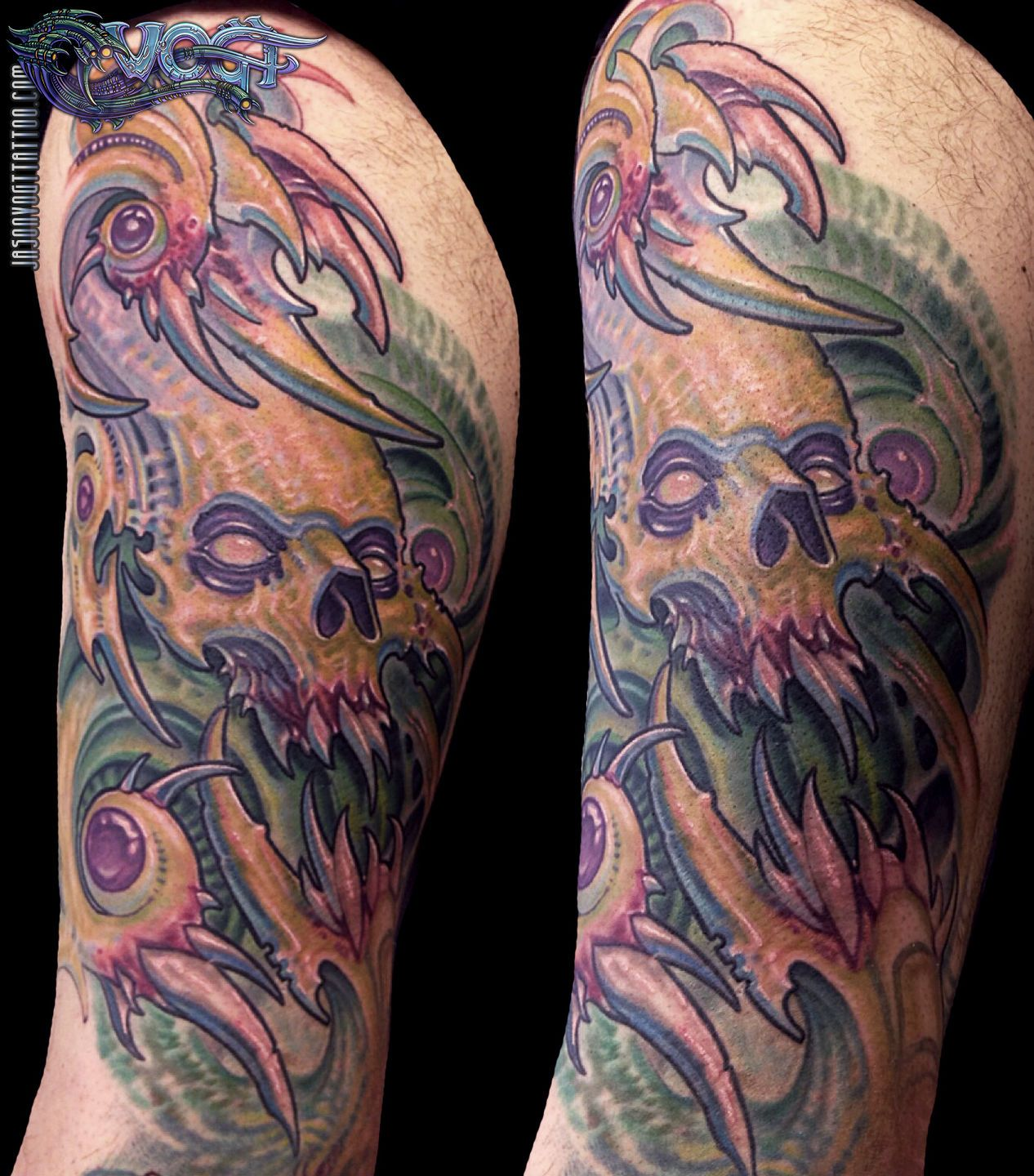 Vogt15 (With images) Bio organic tattoo, Biomechanical