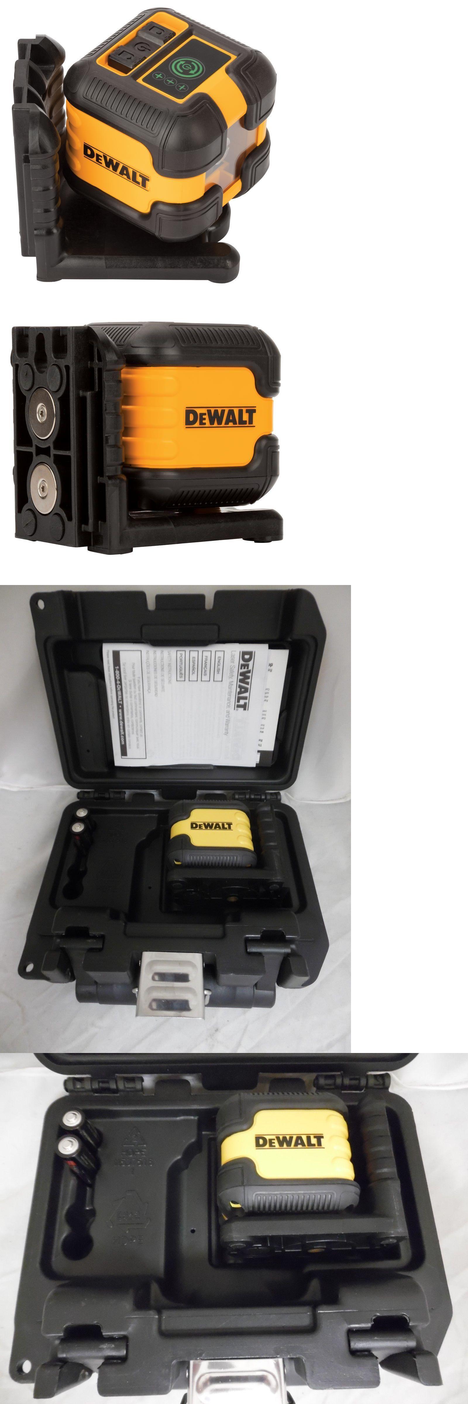 Laser Measuring Tools 126396 Dewalt Dw08802cg Green Cross Line Laser Level Buy It Now Only 89 99 On Ebay Laser Me Laser Levels Electrical Tools Dewalt