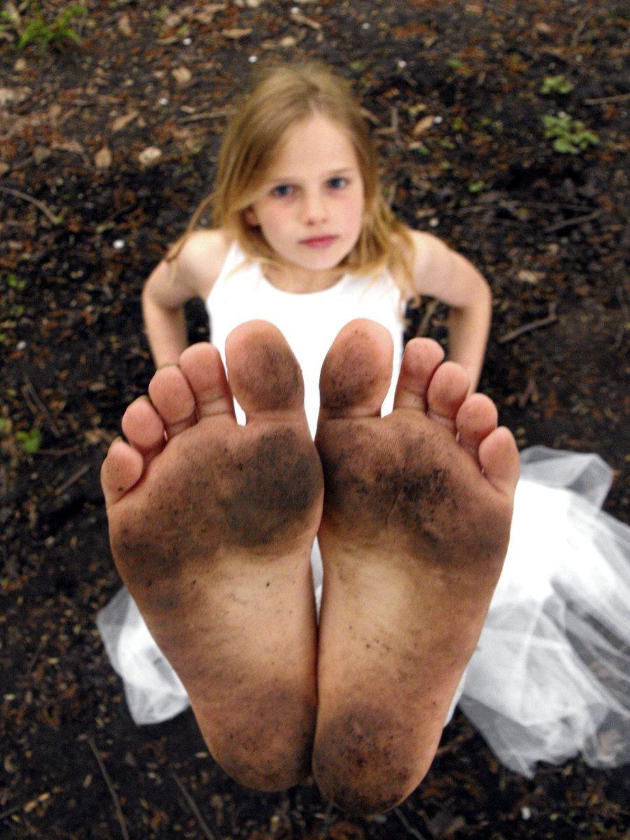 Beautiful blonde soles