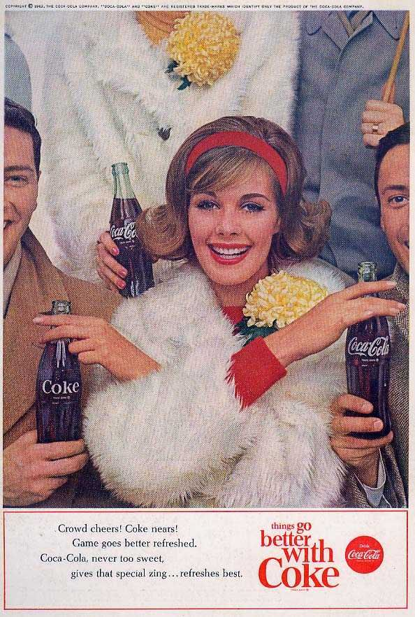 things go better with Coke - coca cola ad