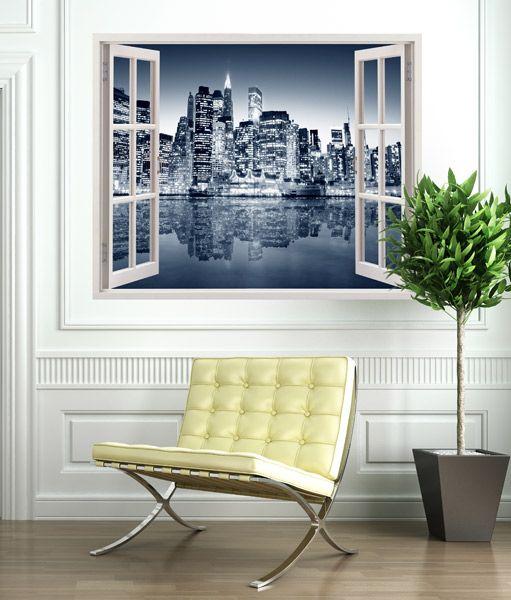 Vinilos decorativos oficina downtown nueva york decoraci n oficina despacho profesional - Decorar despacho profesional ...