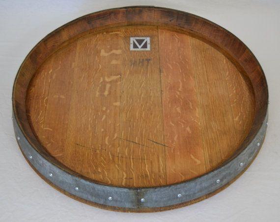 Lazy Susan Wine Barrel Top Free Shipping Wine Barrel Projects