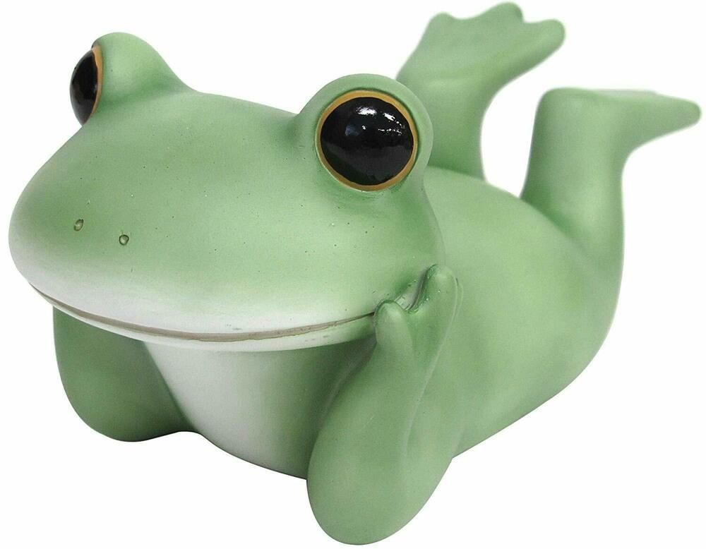 Copeau Frog Toad Garden Size Sleeping Around Cute Kawaii Figure Ornament Japan