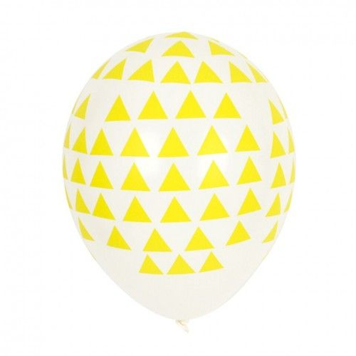My Little Day Balloons - Yellow Triangle