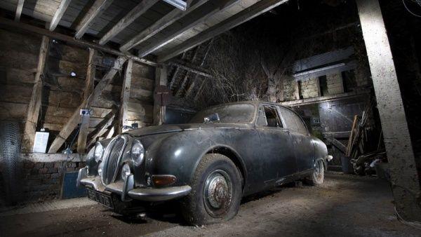 1964 Jaguar S Type Barn Find