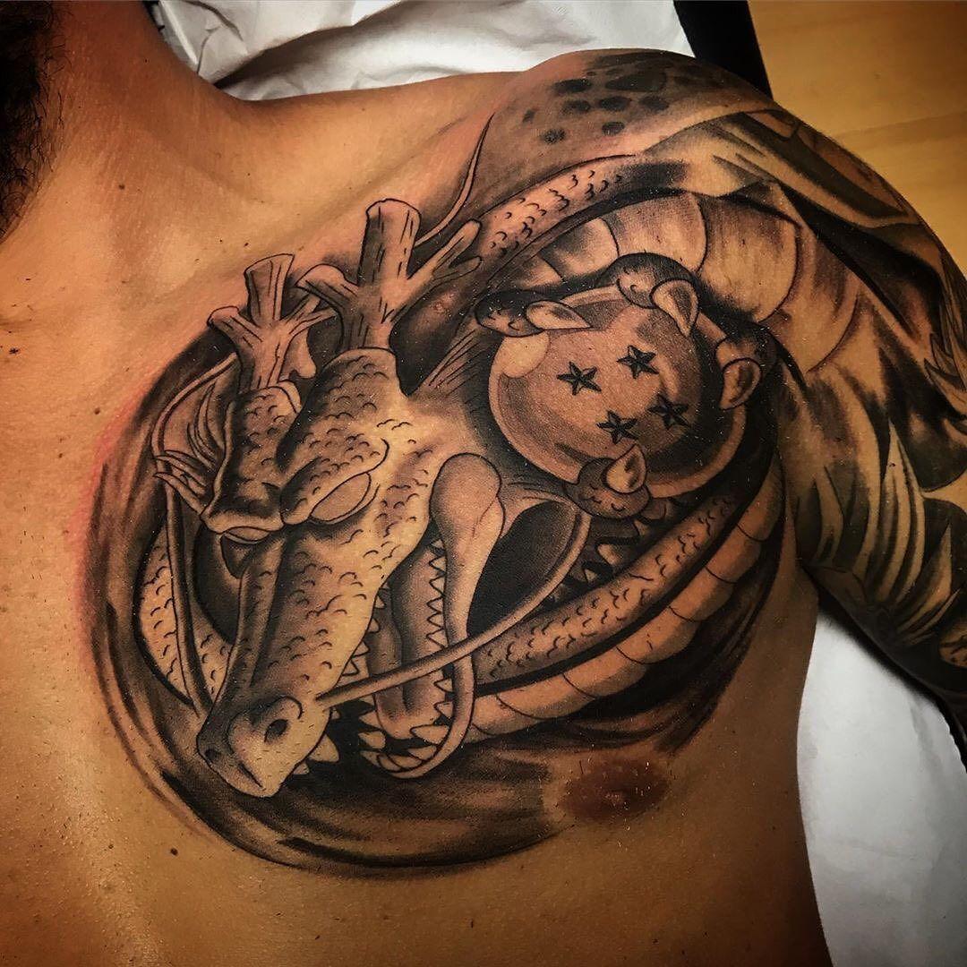Dragon Ball Tattoos On Instagram Tattoo Artist Cristian13almas Tattoo Studio 13almas Tattoo Yugioh Tattoo Dragon Ball Tattoo Z Tattoo