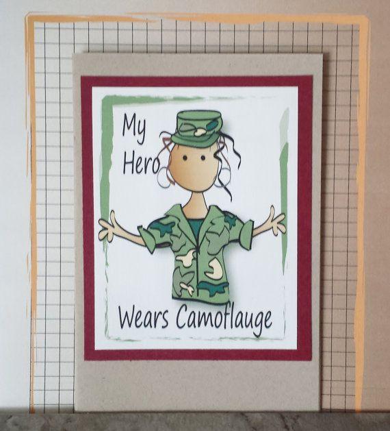 Army Birthday Card Army Mother Birthday Card Army Sister Card – Army Birthday Cards
