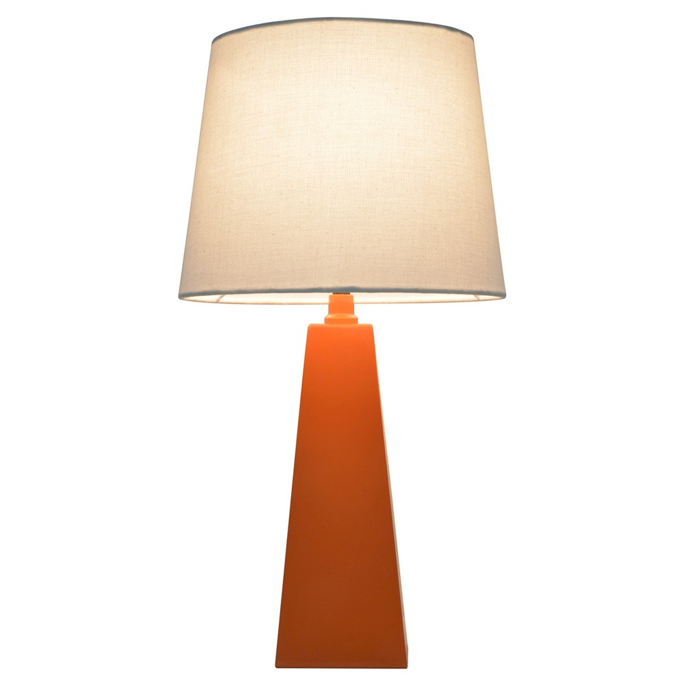 Tapered table lamp orange includes cfl bulb pillowfort tapered table lamp orange includes cfl bulb pillowfort nautical bedroomboy bedroomstable lampsbulbstargetaqua geotapseo Image collections