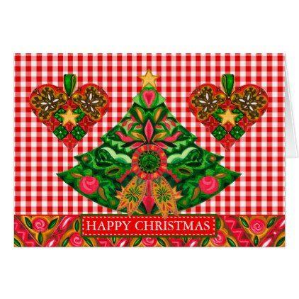 Scandinavian Christmas Card - christmas cards merry xmas diy cyo