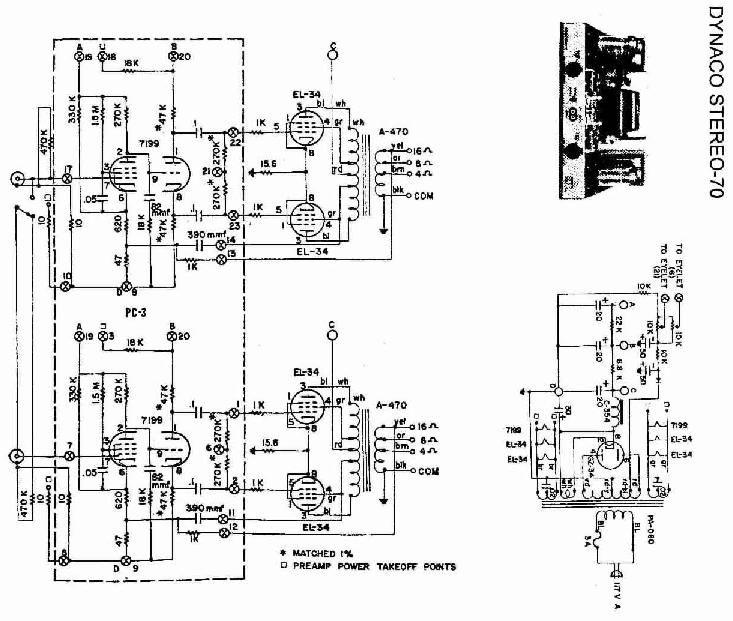 valve guitar amp circuit diagram