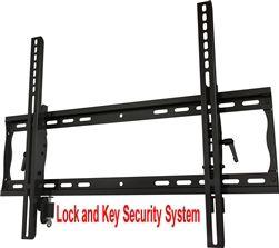 Anti Theft Lockable Tilting Tv Wall Bracket Wall Mounted Tv Tv Wall Mount Bracket Tilting Tv Wall Mount