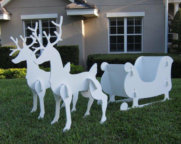 Décorations de Noël à faire soi-même pour l\u0027extérieur Christmas