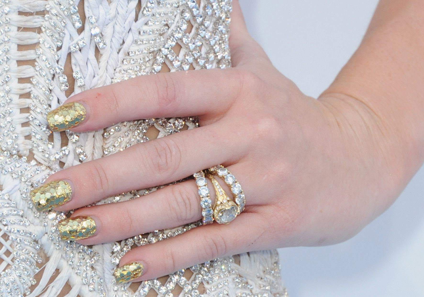 Blinged-out nails are HOT this summer!   Nails We Love   Pinterest ...