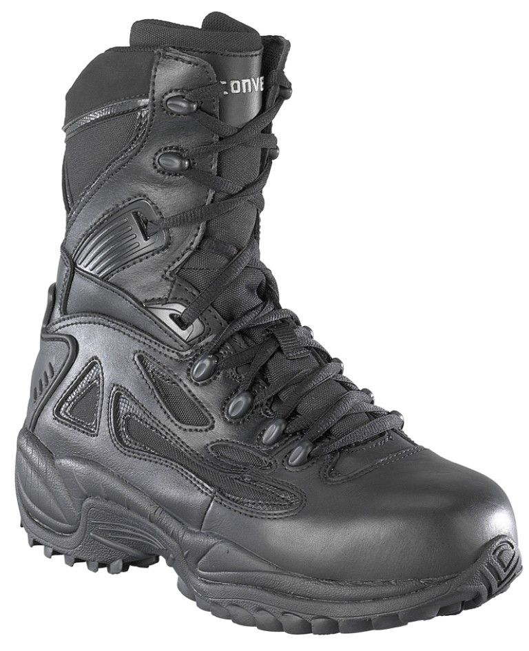 e1bf3dc7406 Converse C8874 Safety Toe Side-Zip Tactical Boots | Made For Walking ...