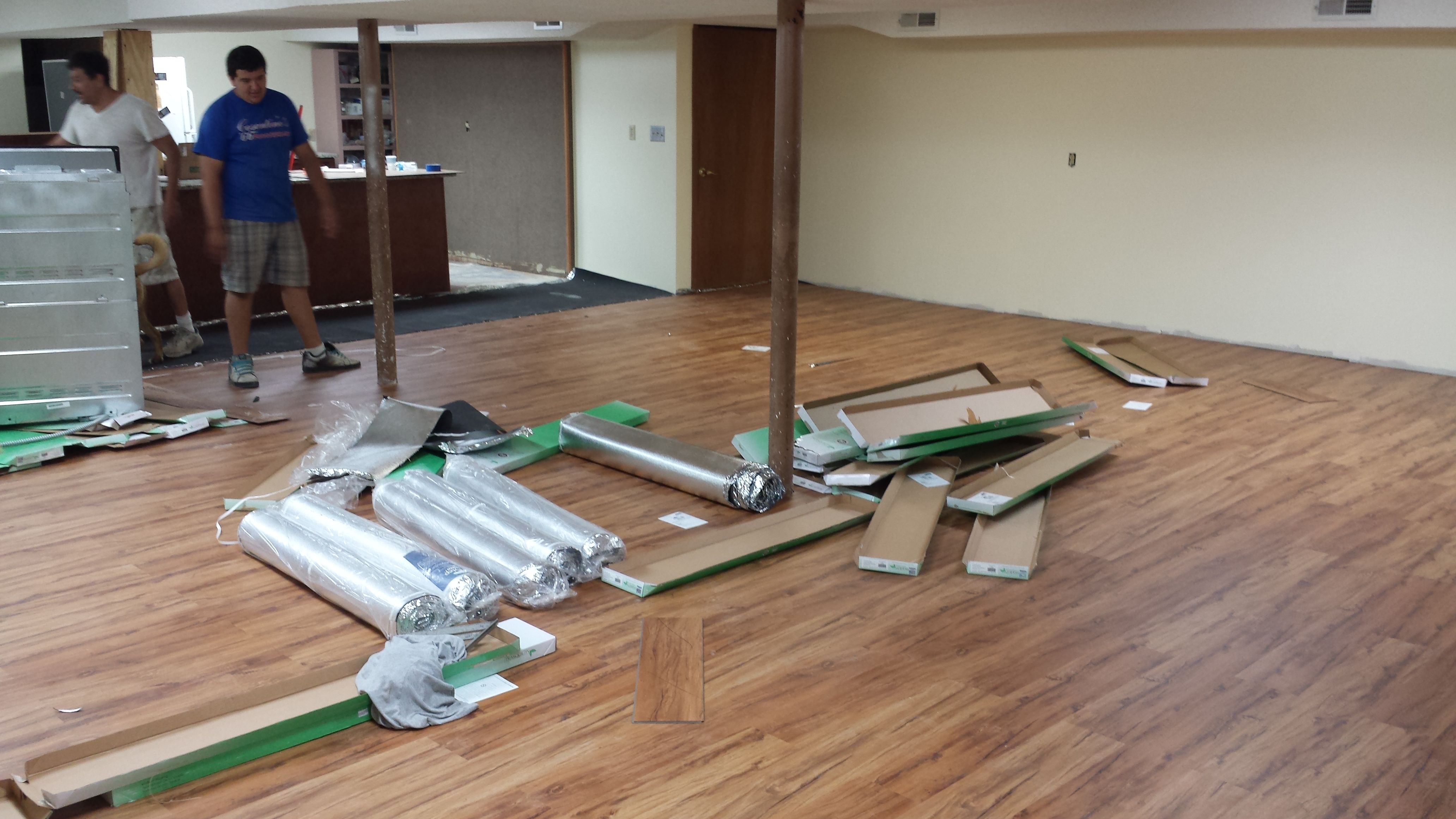 Perfect How To Install Laminate Flooring On An Uneven